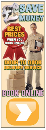 Parcels Picked up and Delivered Door to Door